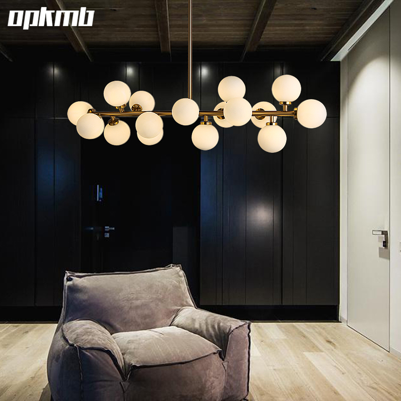 gold boby bubble glass ball pendand light fixture modern. Black Bedroom Furniture Sets. Home Design Ideas