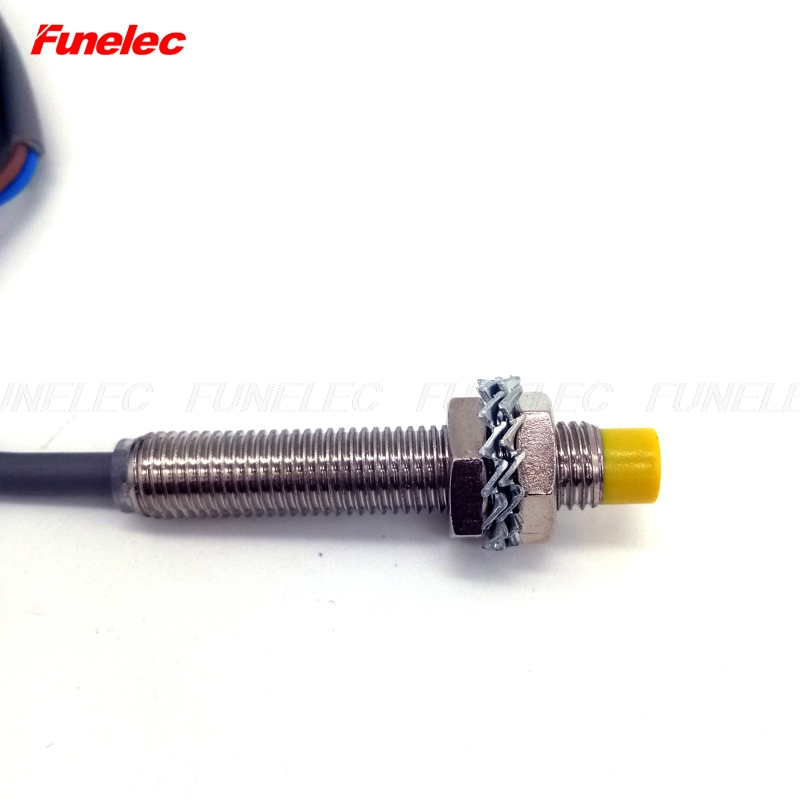 Detection Distance 2mm 6-36VDC NPN No with  M8 Inductive Switch Proximity Sensor