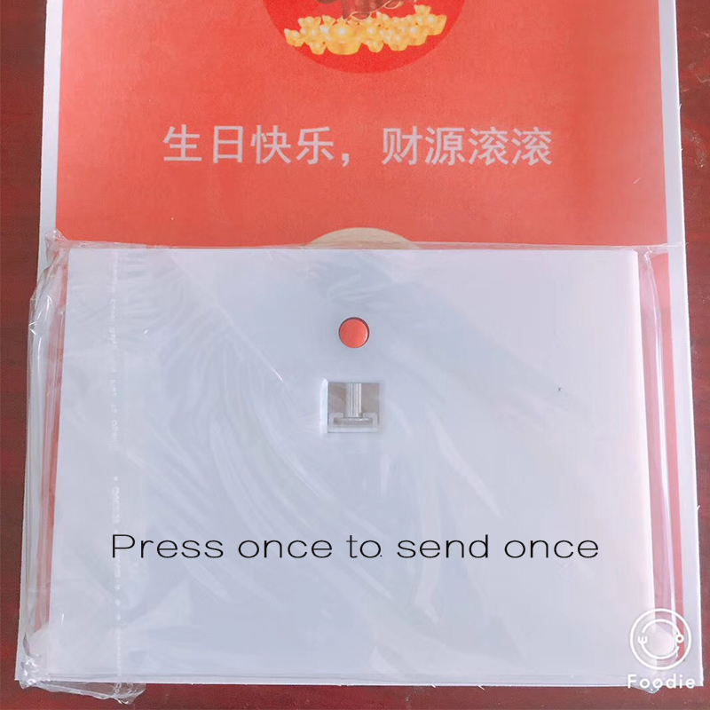 Birthday Surprise Gift Box Pressed The Pop-up Money Machine-operated Red Envelope Surprise Cake Parent Baking Decoration
