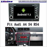 Android 7.1 2G RAM For Audi A4 S4 RS4 2002~2008 Car Radio Audio Video Multimedia DVD Player WIFI DVR GPS Navi Navigation