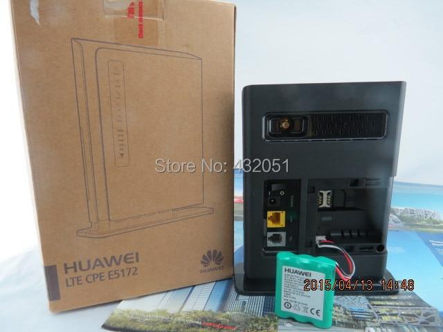 Huawei E5172 150Mbps 4G TDD LTE CPE Router +1000mAh battery+22dbi SMA Antenna