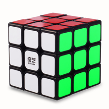Qiyi Magic Cube Classic Toys 3x3x3 Sticker Block Speed Cube Colorful Learning Educational Puzzle Cubo Magico Toys Cube 5 pcs set 2x2x2 3x3x3 magic speed cube professional pyraminx megaminx skew cube educational learning toys for kids puzzle cubo