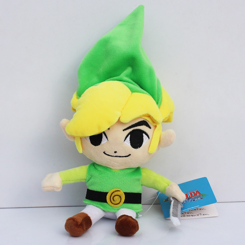 5pcs/lot 7inch Link Plush Toys Global 20cm Holdings Toy Doll