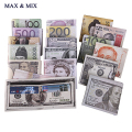 Hot Sale Men Wallets US Dollar Bill Wallet Billfold Leather Credit Card Photo Holder Pursue Women Wallet Coin Pocket Short