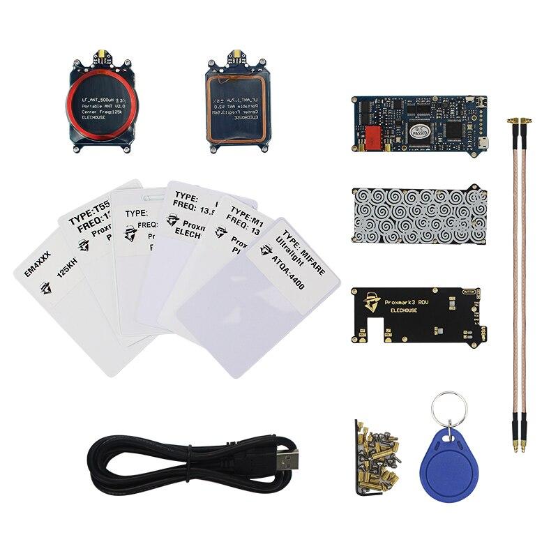 Proxmark3 RDV2 Développement Lecteur De Carte RFID Cloner IDE T5577 NFC Copieur Proxmark 3 Clone Fissure