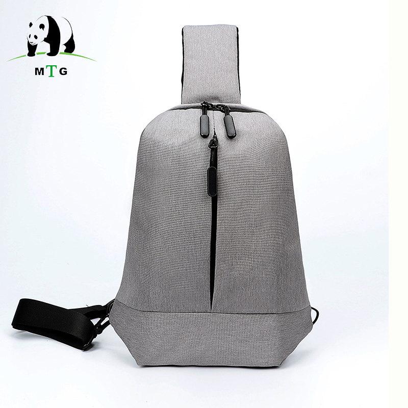 Fashion Anti-Theft Crossbody Bags for Men Messenger Chest Bag Pack Casual Bag Waterproof Nylon Single Shoulder Strap Pack 2018