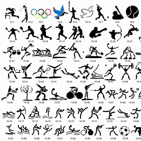 [Hot Sale] 100 Designs- [Sports] Airbrush Body Art Tattoo Stencil Template BOOK 15  цены