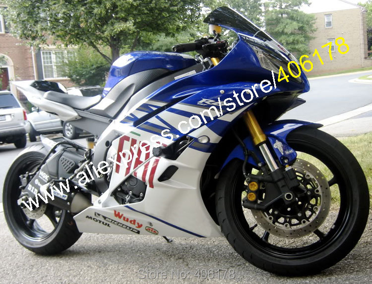 Hot Sales Customized Injection Abs Fairing For Yamaha 2006 2007 Yzf 600 R6 Fiat Yzfr6 06 07