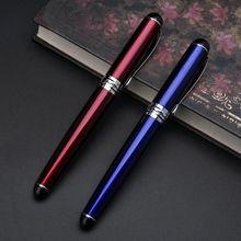 купить Jinhao X750 Luxury Men's Fountain Pen Business Student 0.5mm Extra Fine Nib Calligraphy Office Supply Writing Tool дешево