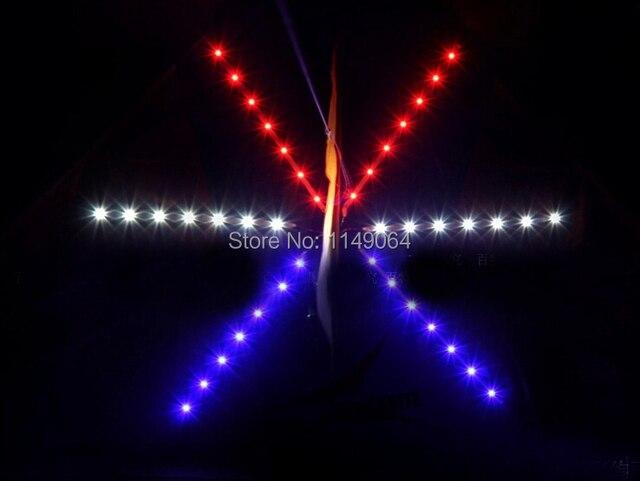O envio gratuito de alta qualidade shinning led pipa pipa voando ao ar livre fun & sports volante parafoil pipa com linha punho levou luz