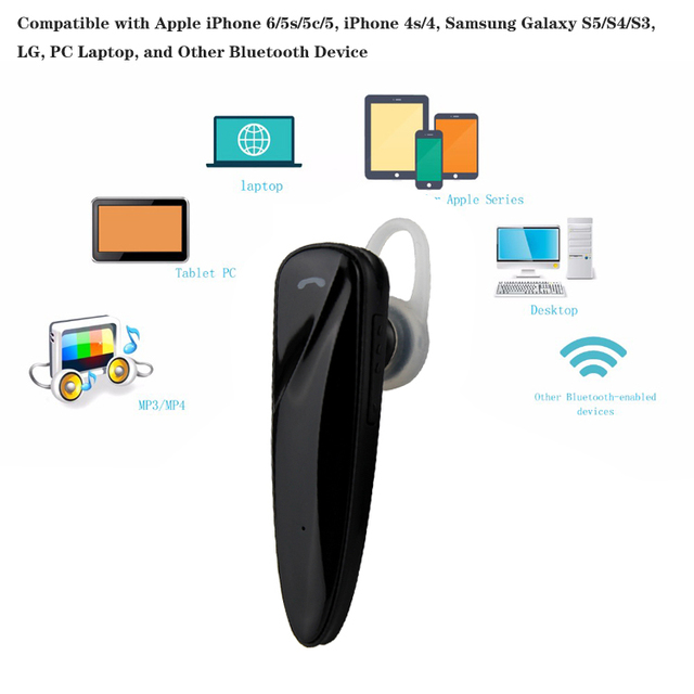 Mini Bluetooth Hands Free Headphone with Mic