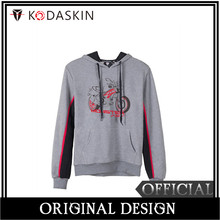 KODASKIN Men Cotton Round Neck Casual Printing Sweater Sweatershirt Hoodies for Monster 797