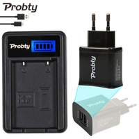Probty EN EL5 EN EL5 ENEL5 LCD Battery Charger 2 Port USB Plug For Nikon Coolpix