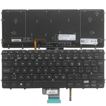 New Canadian French Laptop keyboard for Dell Precision M3800 XPS 15 9530 CF keyboard with backlit