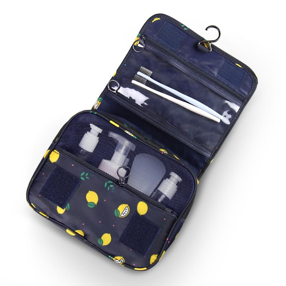Купить с кэшбэком Portable Hanging Women Men Cosmetic Bag Travel Waterproof Makeup Organizer Beauty Make Up Bag Case Necessaries Cosmetics Storage
