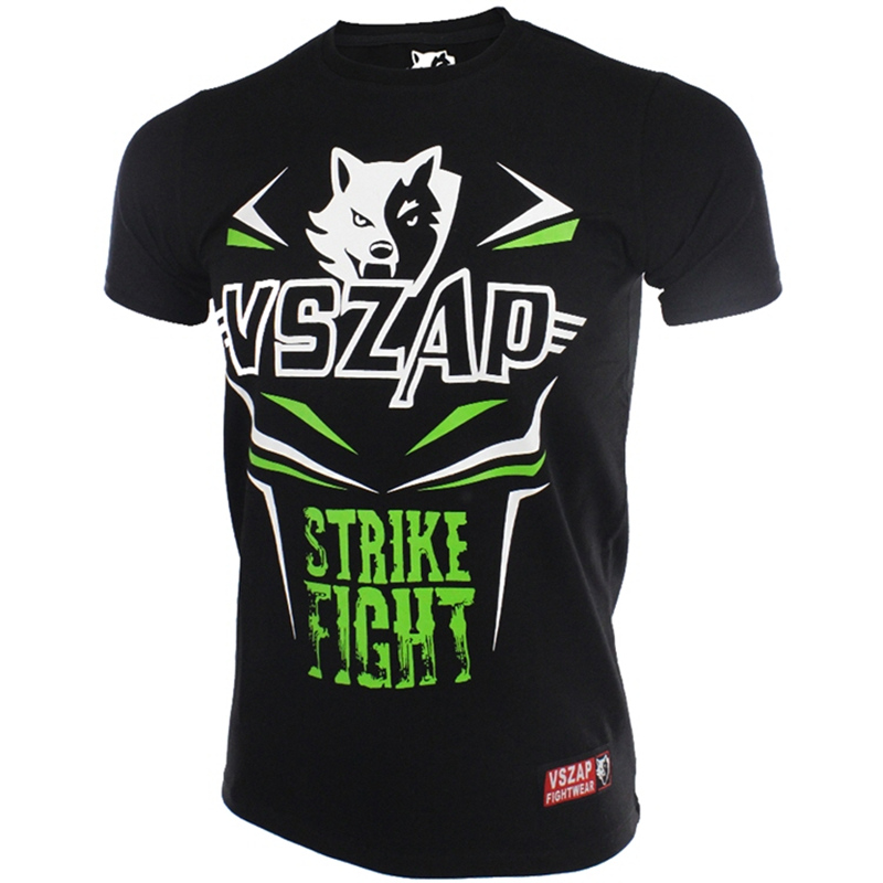 Women Boxing Jerseys Fightwear VSZAP STRIKE FIGHT Unisex Mma Jersey Adult Kickboxing Shirts