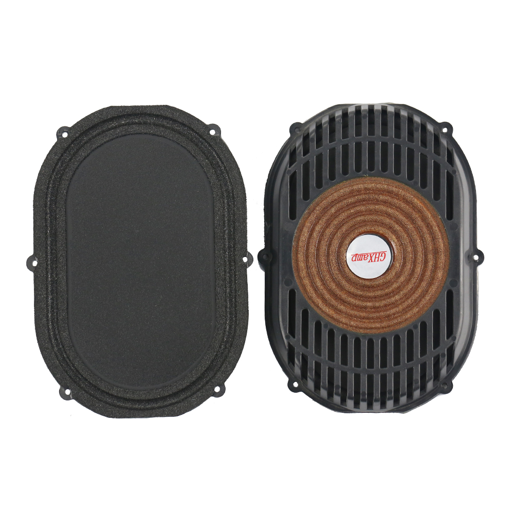 GHXAMP 2PCS 4 Inch*5.5 Inch Passive Radiator Speaker Foam Bass Vibration Diaphragm Bass Radiator DIY Subwoofer Box Runway Type