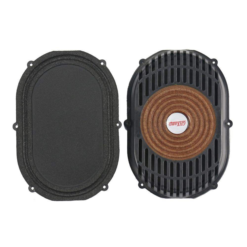 GHXAMP 2PCS 4 inch*5.5 inch Passive Radiator Speaker Foam Bass Vibration Diaphragm Bass Radiator DIY Subwoofer Box Runway Type