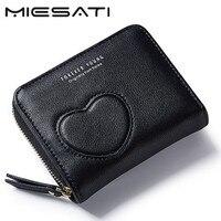 MIESATI Small Coin Purse Women Purse Mini Wallet Cute Coin Holder Walet Women Bag Card Girls