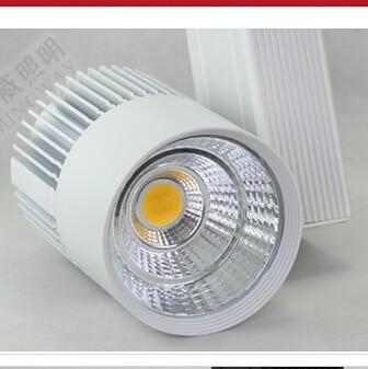 CE RoHS Saving Energy COB Led Track Rail Light 30W Spot Wall Lamp - Pencahayaan LED - Foto 5