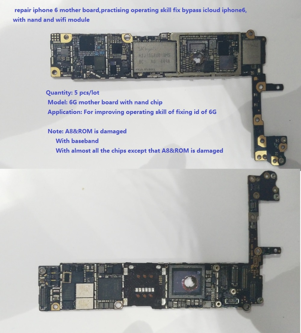 Ic icloud backup iphone from computer - Repair Iphone 6 Board Practising Operating Skill Fix Bypass Icloud Iphone6 With Nand And