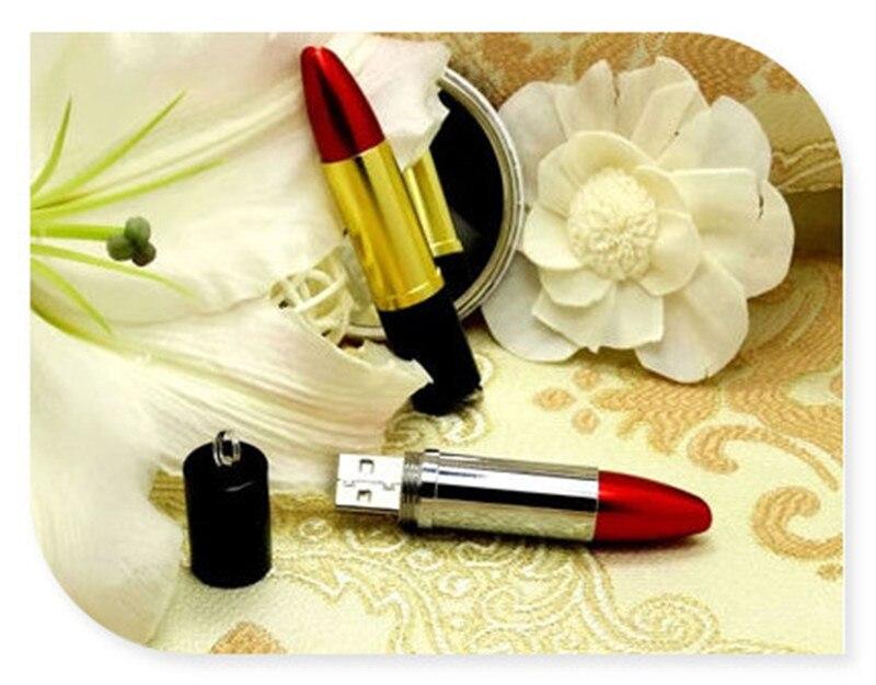 made in china bulk items Pretty Design Red Lipsticks Model 32GB 64GB Genuin Metal Gift USB