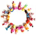 16pcs/lot  New 8cm MGA mini Lalaloopsy Doll the bulk button eyes toys for girl classic toys Brinquedos