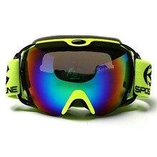 Анти-туман, сноуборд, лыжные очки, двойные линзы, зимние очки для мужчин и женщин, skibrille antiparras, сноуборд, oculos esqui, взрослые лыжные очки