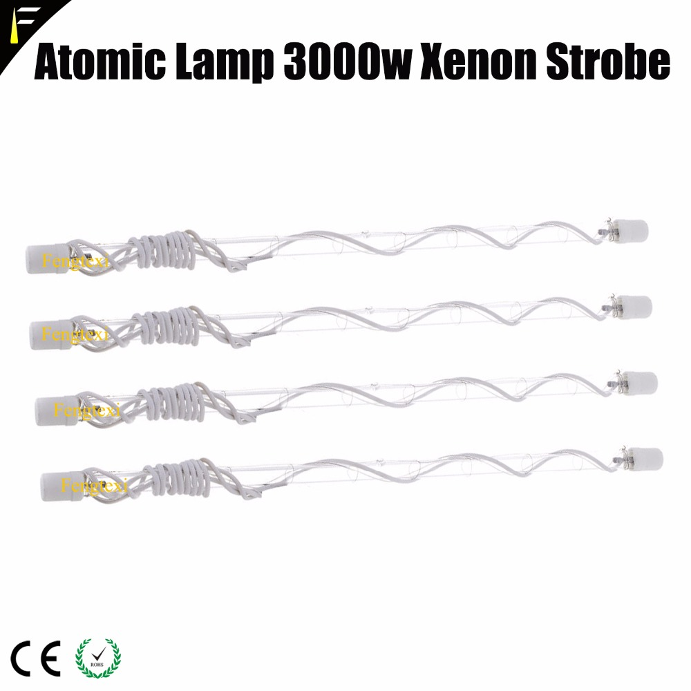 Flashing Xenon Strobe Lamp Bulb XOP 7 750w/XOP 1500/XOP 3000 Replacement For Atomic 3000/1500 Strobe Light Fixtures