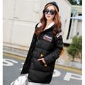 Korea Latest Winter Women Coat Super Warm Cotton Down jacket Hooded Jacket Elegant Loose Big yards Thick Students Coat G0417
