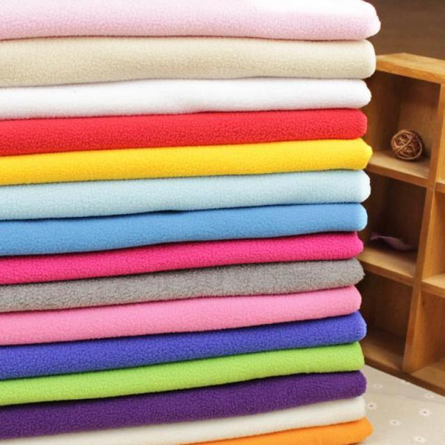 1 Meter Cotton Knit Cloth Thick Sewing Soft Fleece Fabric Cheap ...