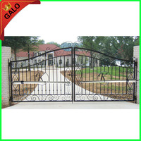 Electric Gates Electric Swing Gate Opener 300 KG Swing Gate Motor With 2 Remote Control For