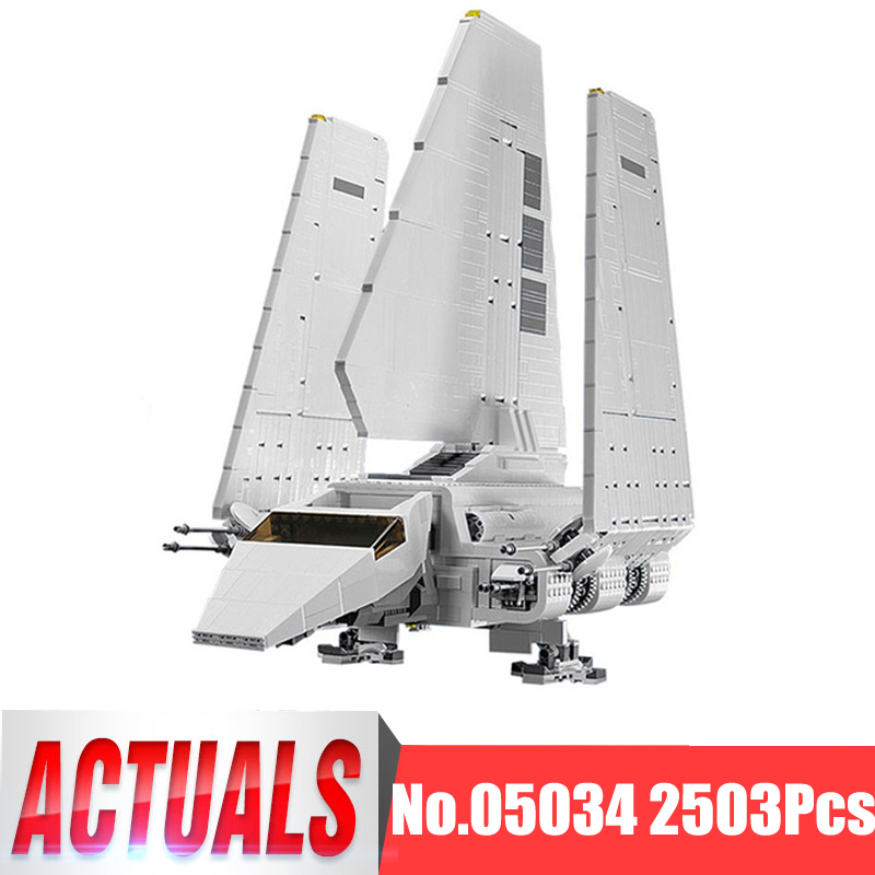 Lepin Star Wars Figures 05034 2503Pcs Imperial Shuttle Model Building Kits Blocks Bricks Toys For Children Compatible With 10212 2503pcs large star wars sets imperial shuttle spacecraft the space battle building block toys kits best technic toys for kids