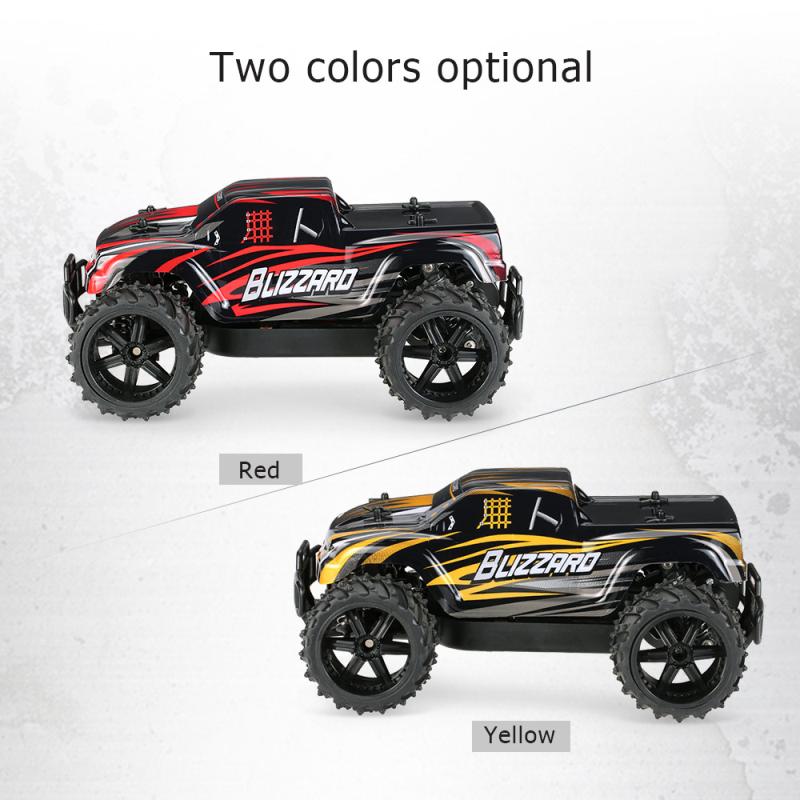 rc car toy S727 1:16 scale 20km/h High Speed Off-road Monster RC Car SUV Rc Monster Truck Racing Model Toys for child best Gifts high quality and best pricing hsp racing rc car 1 5 scale skeleton 94050 gasoline power rtr monster truck 30cc engine high speed