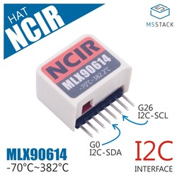 Placa de Desenvolvimento IoT ESP32Mini M5StickC Dedo Computador Compatível NCIR CHAPÉU (MLX90614)