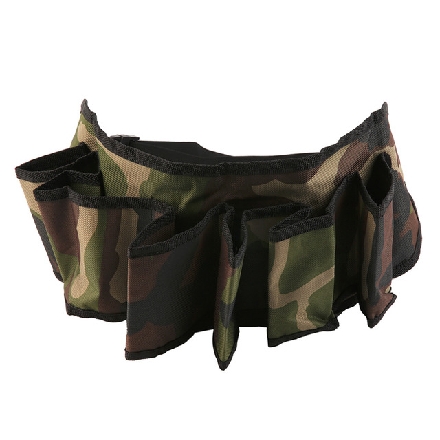 Camouflage Beer Belt Holder: Fits 6 Bottles of Beer