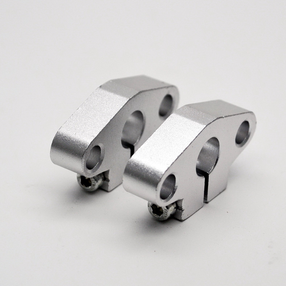 1pcs Shf 40 Bearing Support Horizontal Shaft Brackets Shf40 Inside Bracket Sk10 Untuk 10mm Vertical 1pc 40mm Linear Rail Rod For Cnc