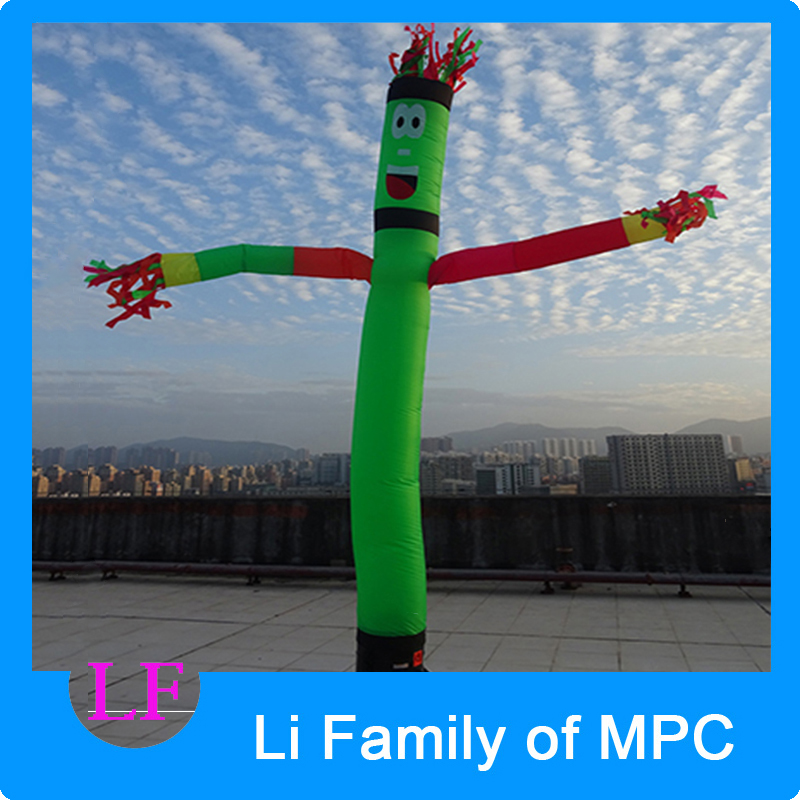 Inflatable Wave One leg Multicolor Arms air dancer sky dancer 6m  Advertising Inflatables advertising inflatables stars for stage