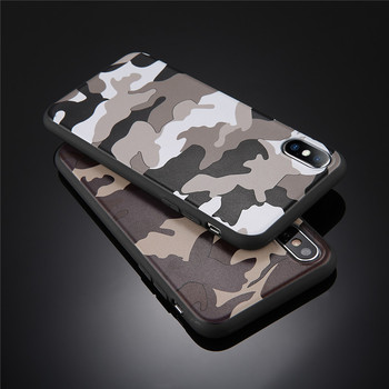 Army Green Camouflage Case For iPhones Soft TPU Silicon Phone Back Cover 3