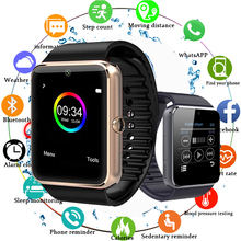 Smart Watch GT08 Clock Sync Notifier Support Sim TF Card Bluetooth Connectivity Android Phone Smartwatch Alloy Smartwatch pk Z60 цена 2017