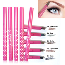 Waterproof Longlasting permanent eyebrow pencil Eye Brow Liner Powder eye liner shadow eyebrow enhancer Makeup Tools accessories