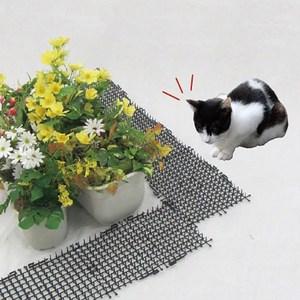 2 m zwierząt ochronne przestraszyć maty z tworzywa sztucznego kot pies jazdy kolczaste Pad ciarki cierń do ochrony roślin ogród kot paznokci ogrodzenie ochronne