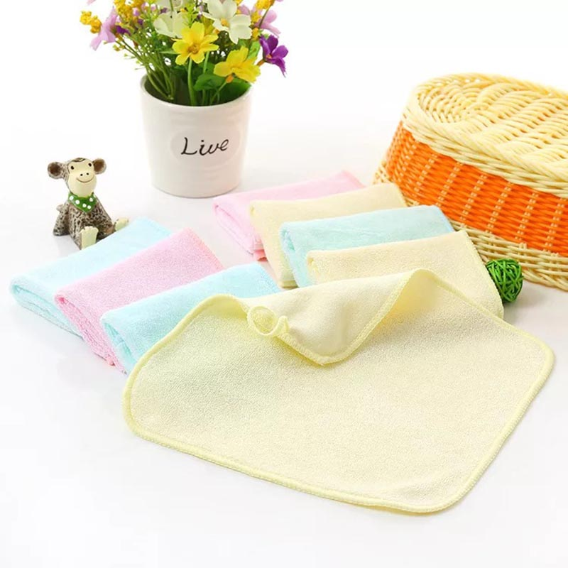 1pc 22X22CM Bamboo Baby Washcloths/Wipes Ultra Soft and Absorbent, Perfect Baby Shower Gift Hypoallergenic Reusable Towel ...