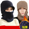 Neck Helmet Beanies Cap Face Mask Hats Warm Winter Fleece Balaclava