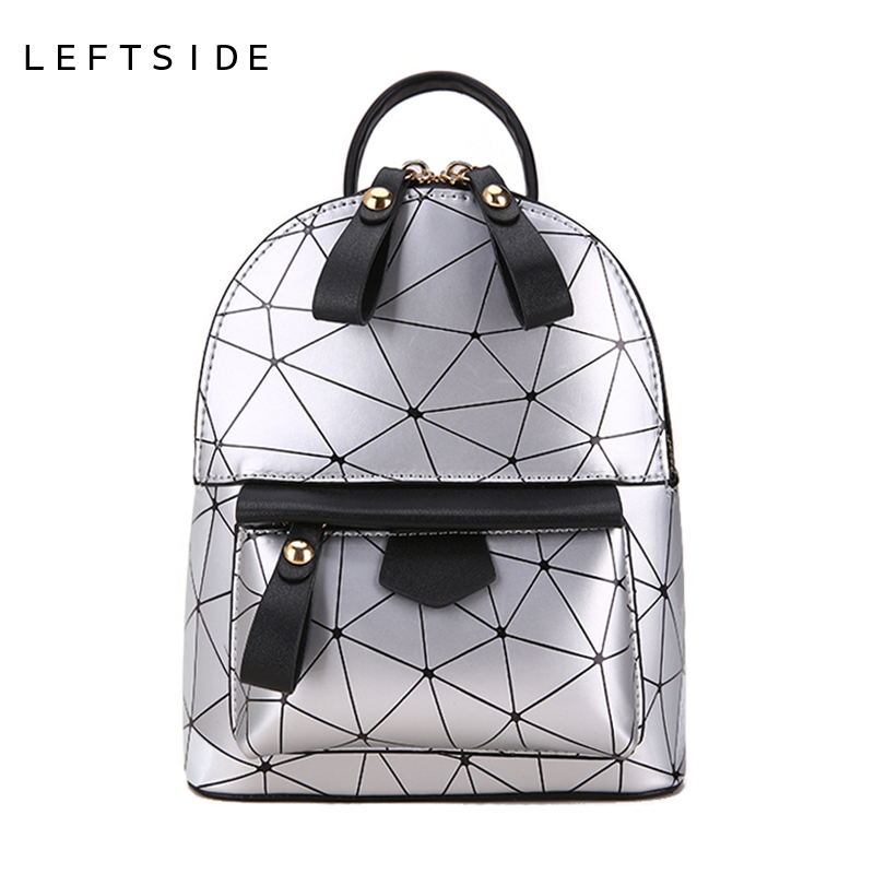 LEFTSIDE Women Mini Backpacks Casual PU Leather Female Backpack Small Back Pack Daypack For Teens Girls Teenagers Travel Bags