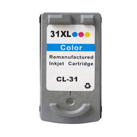 1pcs Tri Color Ink Cartridge For Canon CL 31 CL31 CL 31 For Canon PIXMA MP140