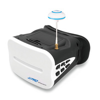 JJPRO F01 64CH 64 Channel 5.8G FPV Goggles 5 Inch VR Headset For H8D H11D H6D RC Quadcopter Aircraft With battery