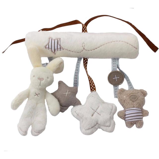 Hanging Baby Rabbits Plush Toy