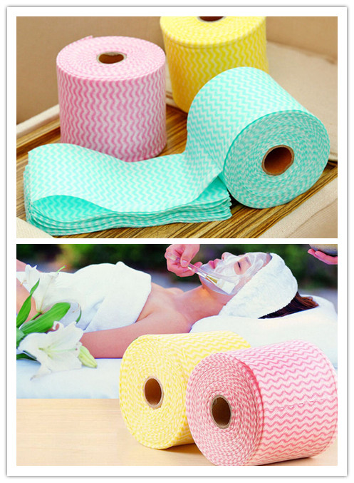 1 Pcs 65.6ft Disposable Soothing Cotton Face Towel Makeup Cleaning Wash Cloth Hand Towel