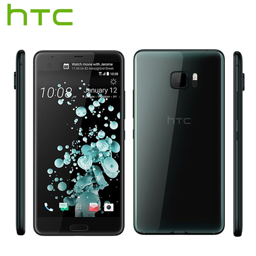 Original New HTC U Ultra 4G LTE Android Mobile Phone 4GB RAM 64GB ROM Snapdragon 821 Quad Core 5.7 2560x1440 DualView Callphone image